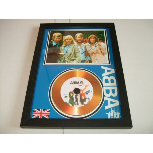 abba  signed disc