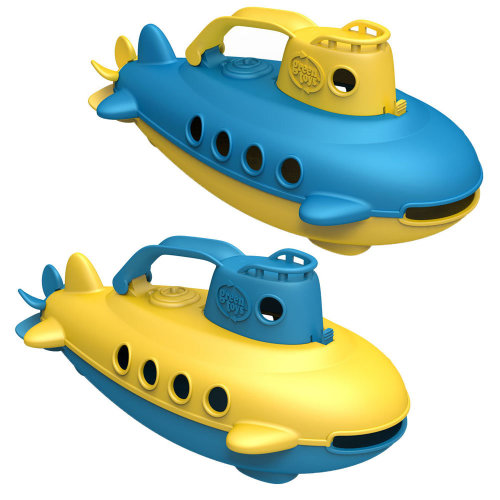 Green Toys Submarine Bath Toy ideal for Babies and Toddlers