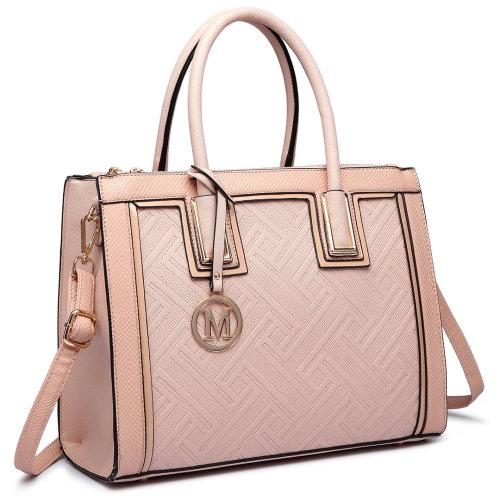Miss Lulu Women Handbag Large Shoulder Bag Leather Tote