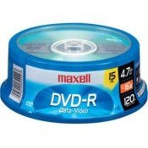 Maxell 638006 DVD R 4 7 Gb Spindle with 2 Hour Recording Time and Superior Recording Layer Technology with 100 Year Archival Life