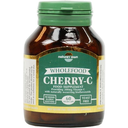 Natures Own Cherry C 200mg 60 Vcaps