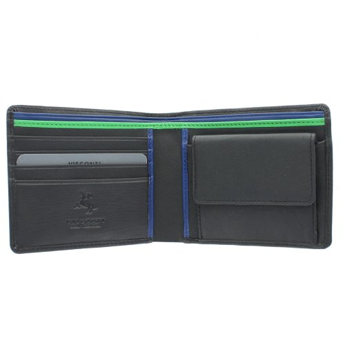 Visconti Gents Leather Bond Collection 'M' Wallet BD10