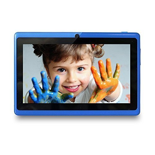 Yuntab 7 Inches 8G Q88 Allwinner A33 Quad-core Tablet PC Google Android 4.4 Google Play Pre-loaded, External 3G 3D-Game Supported 5 Point Screen...