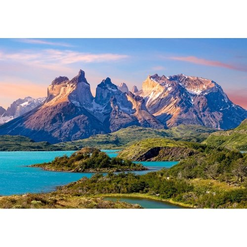 Csc150953 - Castorland Jigsaw 1500 Pc - Torres Del Paine, Patagonia