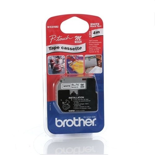 Brother MK221SBZ Labelling Tape (9mm) M label-making tape