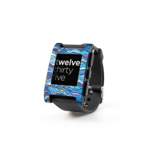 DecalGirl PWCH-THEBLUES Pebble Watch Skin - The Blues