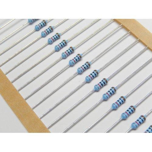 0.6 Watt Metal Film Resistors MRS25 820 OHM PACK of 100