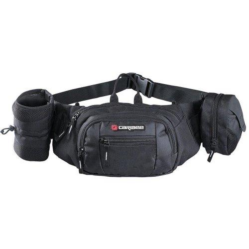 Caribee Roadrunner Bum Bag/Waist Pack (Black)