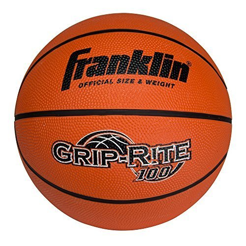 Franklin Sports Grip-Rite 100 Rubber Basketball (Size 7)