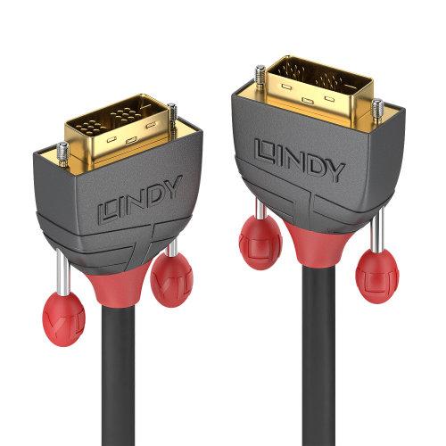 Lindy 36241 DVI cable 15 m DVI-D Black