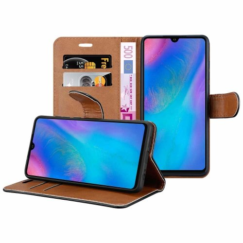 For Huawei P30 Pro Wallet Book Leather Case Cover