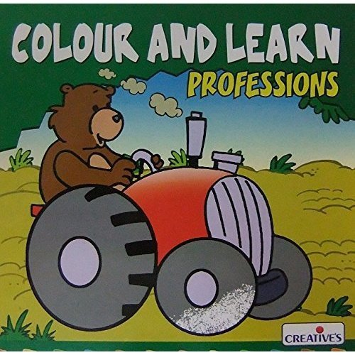 Creative Books - Colour Nlearn-professions - Cre0570 N Learnprofessions -  cre0570 creative books colour n learnprofessions