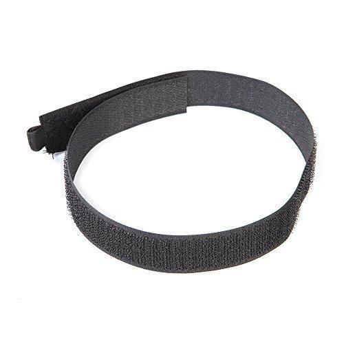Fixman 378153 Hook & Loop Cable Ties 10pk 450mm Black - (1-piece) -  cable hook loop ties 10pk 450mm black fixman 378153