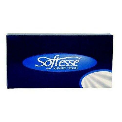 6 PACKS OF SOFTESSE MAN SIZE BOX TISSUES BIGGER SOFT ORIGINAL NAPKINS FACIAL HOME HOTEL CAR