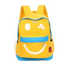 Smiling Face Little Kid Backpack Kids Boys Girls Backpack,yellow