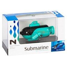 Remote Control R.C Mini Underwater Russian Army Sub Palm Submarine