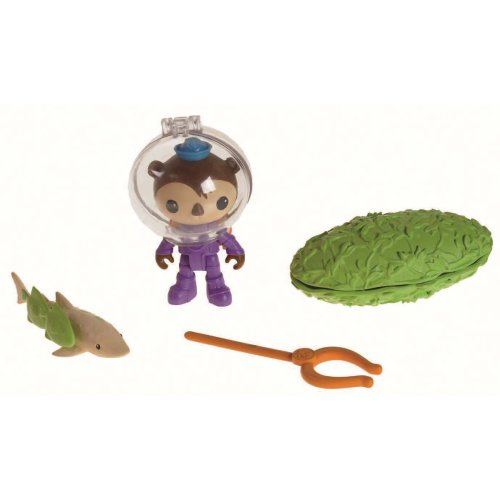 Fisher Price Toy - Octonauts Action Figure Rescue Kit - Shellington and the Swell Shark Playset