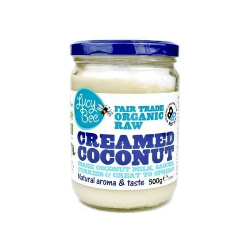 Lucy Bee Organic Creamed Coconut 500g