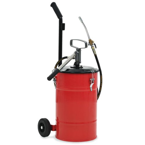 vidaXL Hand-Operated Grease Pump 12L Oil Injector Gun Fuel Supply Equipment