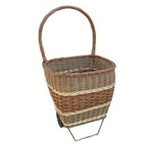 Wheeled Shopping Basket