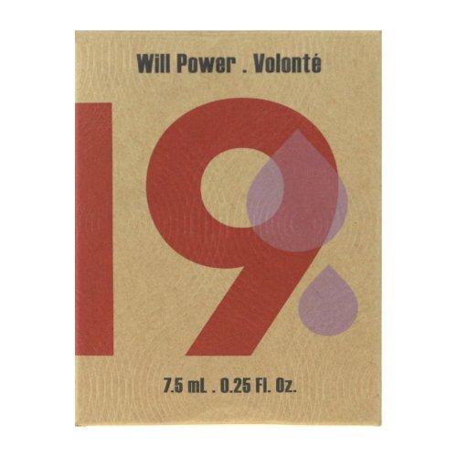 21 Drops 19 Will Power Essential Oil Rollerball 7.5ml/0.25Oz In Box