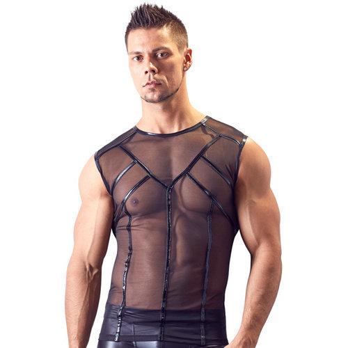 Powernet Shirt Medium Men's Lingerie Shirts - Svenjoyment Underwear