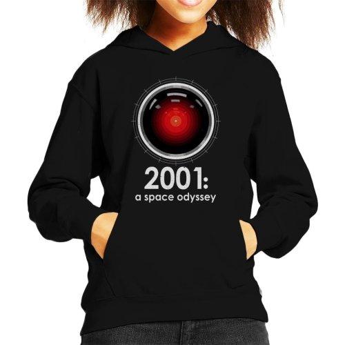 2001 A Space Odyssey Inspired HAL 9000 Kid's Hooded Sweatshirt