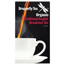 Dragonfly Tea Dragonfly Organic Traditional English Breakfast Tea 20 Sachets