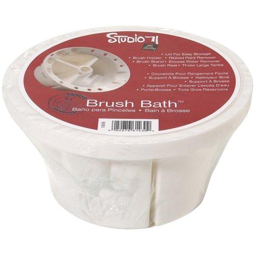 Studio 71 Brush Bath W/Lid-