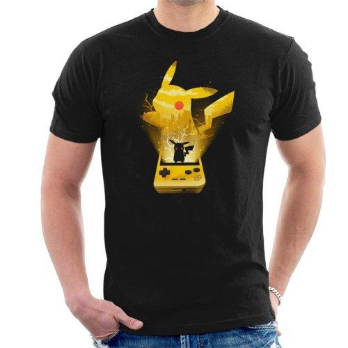 Pokemon Yellow Montage Men's T-Shirt