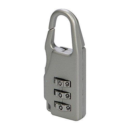 Silverline Travel Combination Padlock 3-digit - 3digit 646204 Luggage Zinc Alloy -  combination silverline padlock travel 3digit 646204 luggage zinc