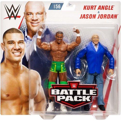 WWE Battle Pack - Series 56 - Kurt Angle & Jason Jordan