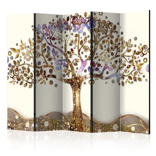 Large Golden Tree II Room Divider   Tree Room Divider