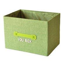 Uncovered Drawer Deedbox Foldable Sundry Organizer Box Storage Baskets A