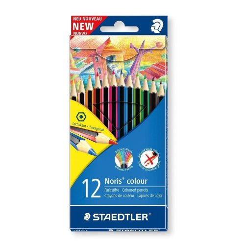 12pc Staedtler Noris Colour Pencils | Set Of Colouring Pencils