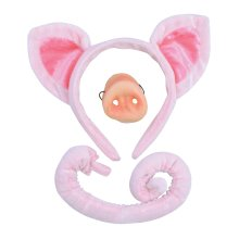 Children's Pig Ears, Tail & Nose Set