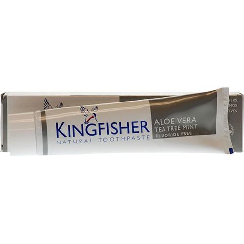 Kingfisher Aloe Vera Tea Tree Mint Fluoride Free Toothpaste 100ml