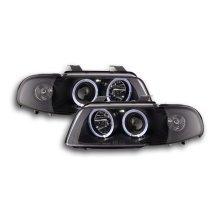 headlight Audi A4 type B5 Year 99-01 black