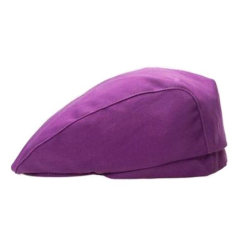 [Purple] Kitchen Chef Hat Restaurant Waiter Beret Bakery Cafes Beret