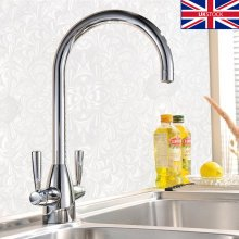 Chrome Kitchen Tap Mono Sink Mixer