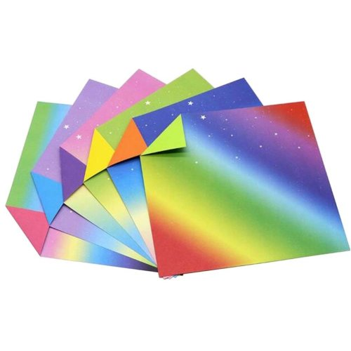 240 Sheets Colorful Square Origami Papers Craft Folding Papers #12