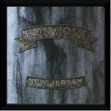 Bon Jovi New Jersey Framed Album Print