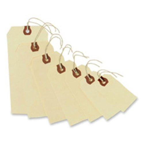 Avery Consumer Products AVE12503 Shipping Tags- No 3 Strung- 3-.75in.x1-.88in.- Manila