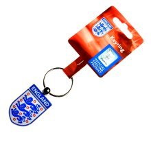 England Crest Key Ring - Multi-colour - Lions Football Key Fa Three -  england lions crest football keyring fa three international car metal official