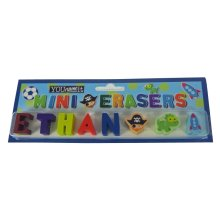 Childrens Mini Erasers - Ethan