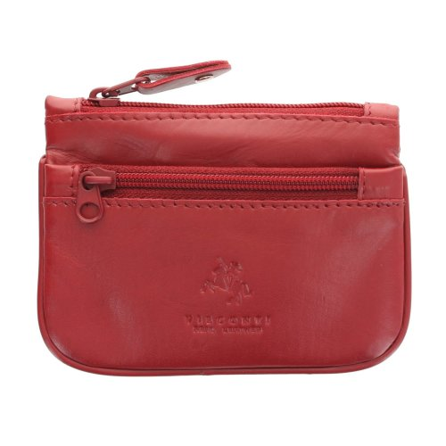Visconti Leather Zip Top Coin Purse/Keycase CP3