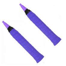 Set of 4Tennis Racket Squash Racquet,comfortable overgrip,Anti-slip,Purple