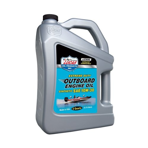 Fully Synthetic SAE 10W30 Outboard Engine Oil FC-W - 4.54 Litre