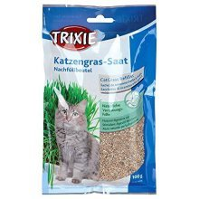 Trixie Cat Grass Refill For # 4235, Bag/approx. 100 G - Kitten -  cat grass kitten trixie refill