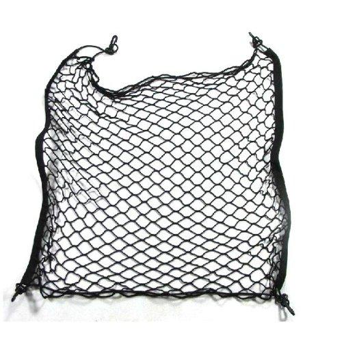 Car Trunk Nylon Rope Net 70cm x 70cm Black